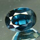 Deep ultramarine blue Badakshan spinel