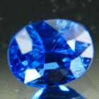 finest blue Ceylon sapphire untreated