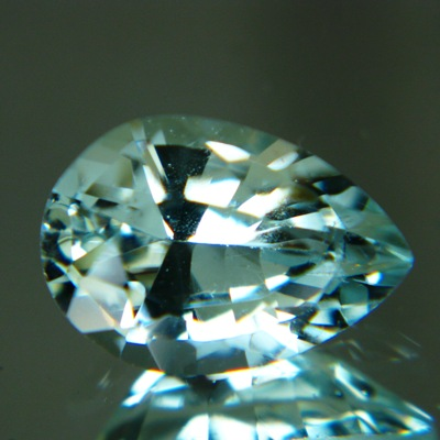 Untreated African Aquamarine