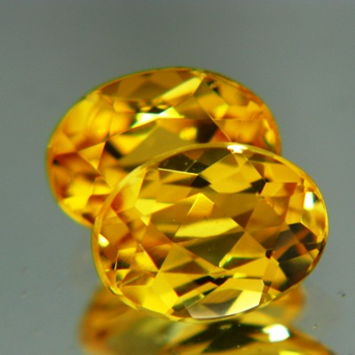 golden beryl pair without treatments