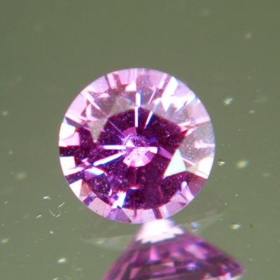 Intense pinkish purple Madagascar sapphire