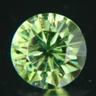 grass green demantoid in 5mm round