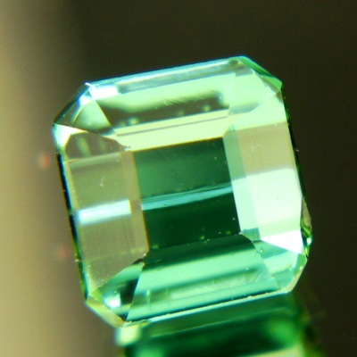bright green in natural untreated tourmaline from Afghanistan