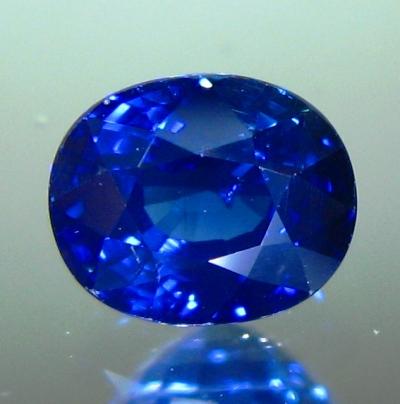 Deep kashmir blue Ceylon sapphire