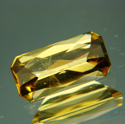 Greenish golden yellow Mozambique Tourmaline