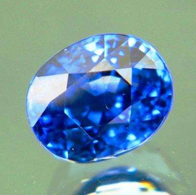 Kashmir blue African sapphire