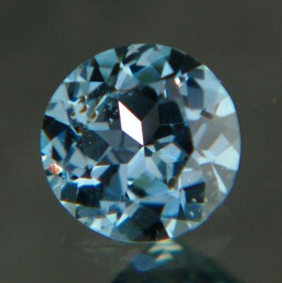 Rich metallic blue Montana sapphire
