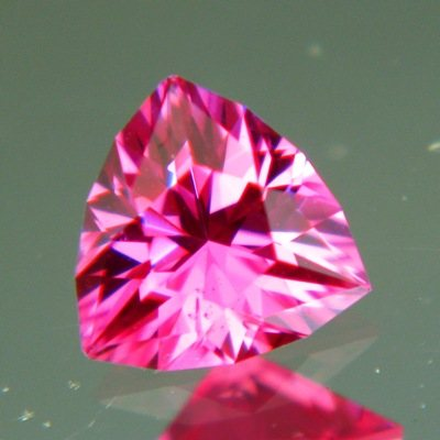 Neon pink Tanzanian spinel