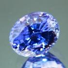 Lush cornflower blue Ceylon sapphire
