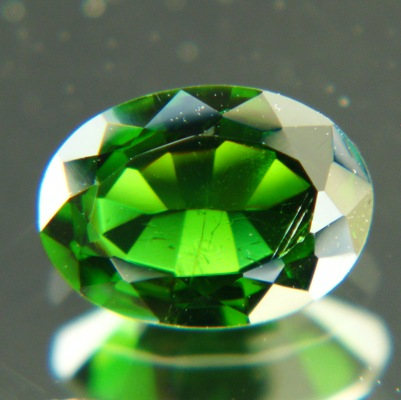 deepest green in chrome tourmaline