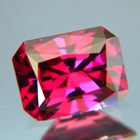 Precision cut Rhodolite Garnet