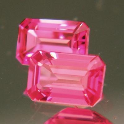 Orange pink Mahenge spinel