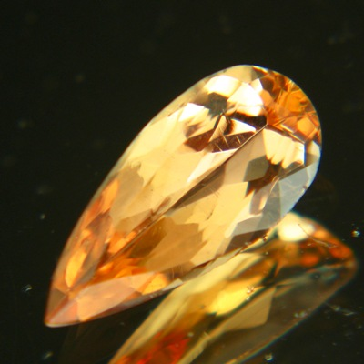 golden orange peach Imperial topaz extra fine
