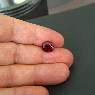 gemstone photo Rhodolite Garnet 4.56 carat