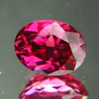 Red pink Mozambique rubellite