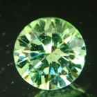 round green demantoid