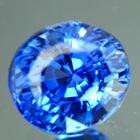 finest blue Ceylon sapphire untreated kornflower blue GRS