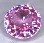 pink baby sapphire unheated untreated
