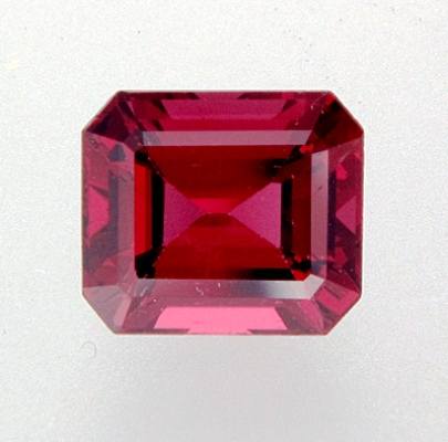 Rich rose red Burma spinel