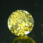 Electric yellow Ceylon Zircon