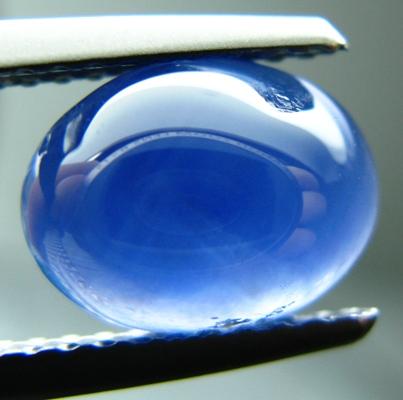 Mild cornflower blue Ceylon star Sapphire