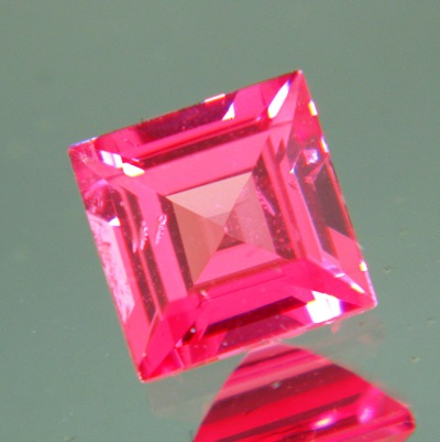 Hot red pink Mahenge spinel