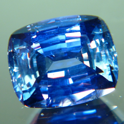 Multicolor African sapphire