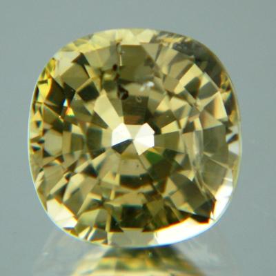 Lemon yellow Ceylon sapphire