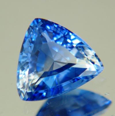 Cornflower blue Ceylon sapphire