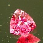 Neon pink Mahenge spinel