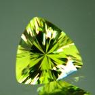 Neon green trillion African tourmaline