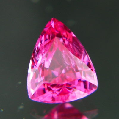 Neon red pink Mahenge spinel