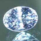Aqua blue Ceylon sapphire