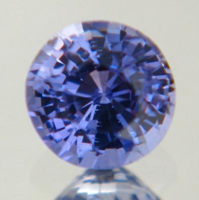 Mild cornflower blue Ceylon sapphire