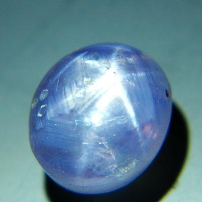 Lavender violet Ceylon star Sapphire