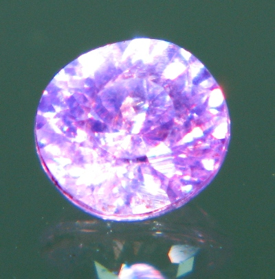 Silky violet pink Sapphire