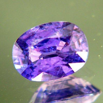 Flowery violet purple Madagascar sapphire