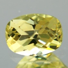 yellow chrysoberyl unheated and untreated