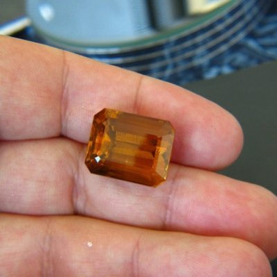 gemstone photo Citrine 25.60 carat