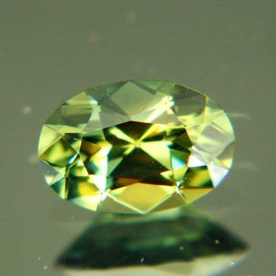 Multicolored Australian sapphire