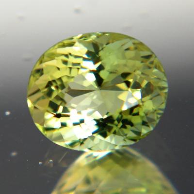 Golden green Ceylon Tourmaline