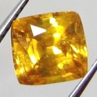 natural yellow gold zircon gemstone