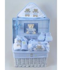 Forever Baby Book Gift Basket - Boy
