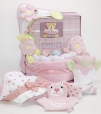 Forever Baby Book Album Cake-Girl