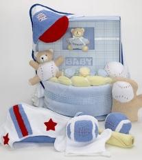 Forever Baby Book Album Cake-Boy