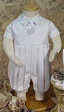 Boys Christening Knicker Set With A Grown-Up Looking Tie