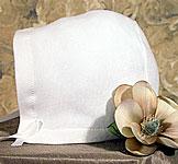 Christening Bonnet Or Hat Liner Cap