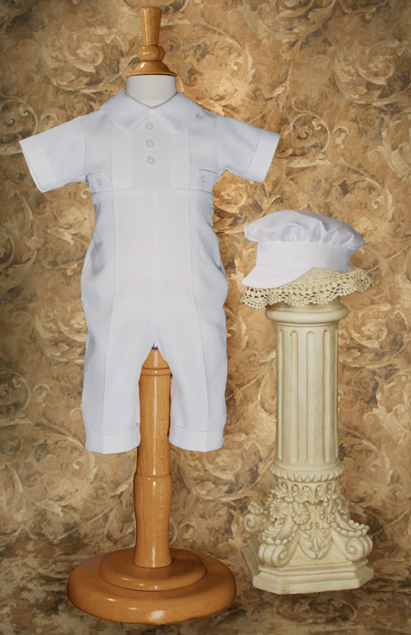 Classic Boys Christening Outfit