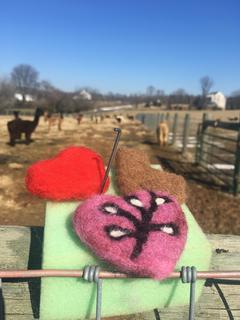 Mother- Daughter Needle Felting Class