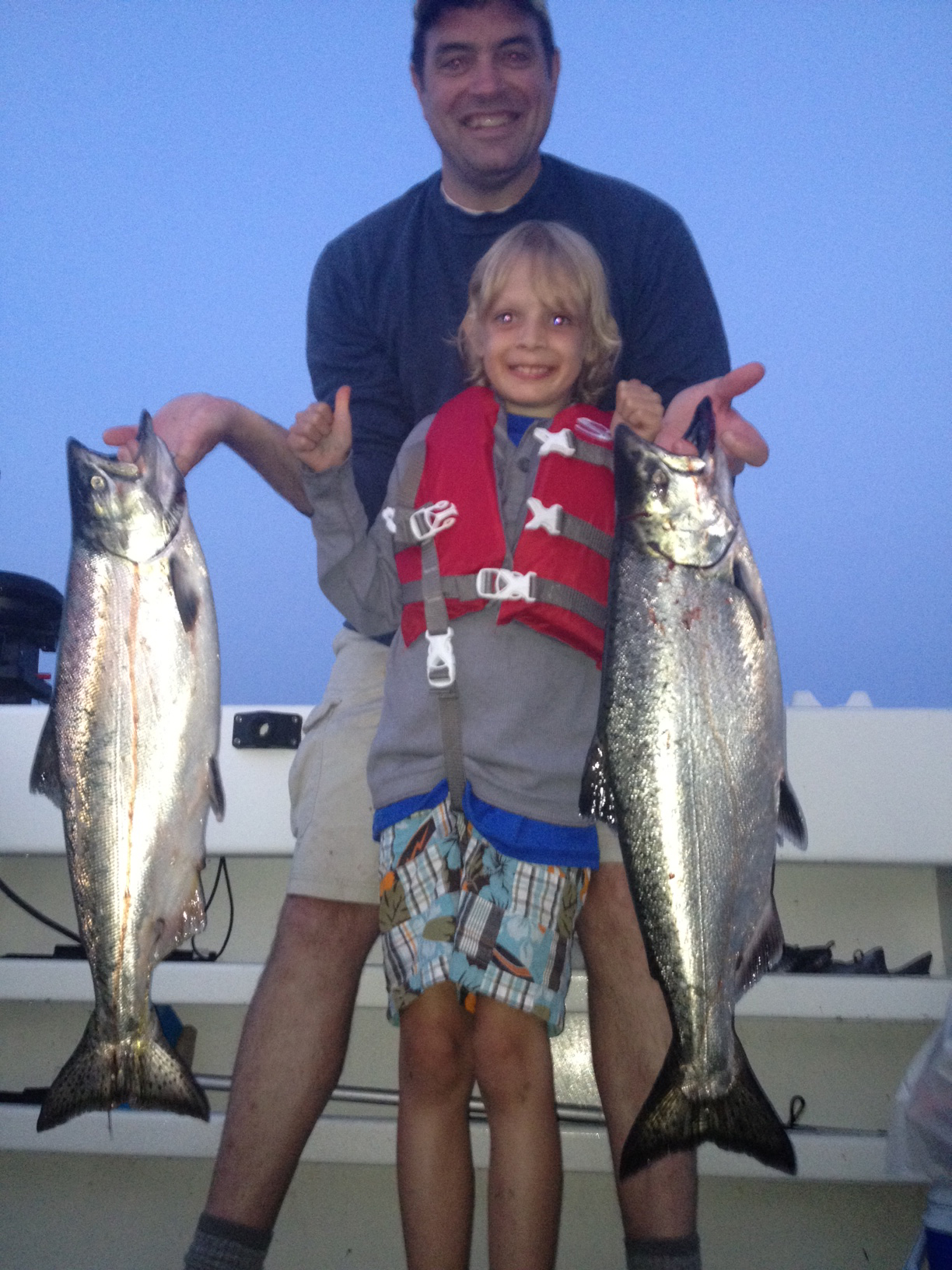 Guides nw steelhead and salmon fishing reports for Fishing charters seattle